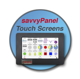 savvyPanel and drive.web...distributed control over Ethernet